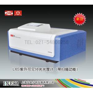 L6S紫外可见分光光度计 亮点:带扫描功能 7寸彩屏 上海仪电分析仪器有限公司 市场价27800元